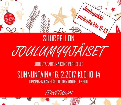 JOulumyyjäiset Suurpellossa 16.12.2018