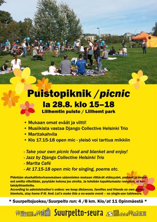 Piknik Suurpellossa 28.8.2021